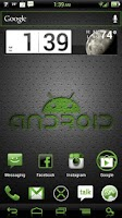 Screenshot of NateModz Green CM10 Theme