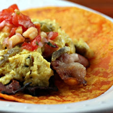 Green Tabasco Breakfast Burritos