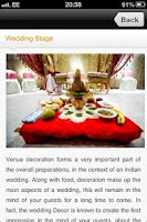 Screenshot of Indian Wedding Planner