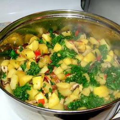 Winter Vegetable Saute