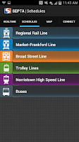 Screenshot of SEPTA