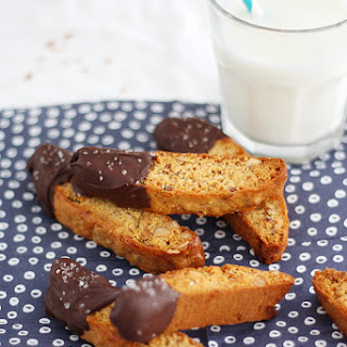 Girl vs Dough – Salted Dark Chocolate Honey Biscotti