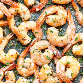Garlic Parmesan Roasted Shrimp