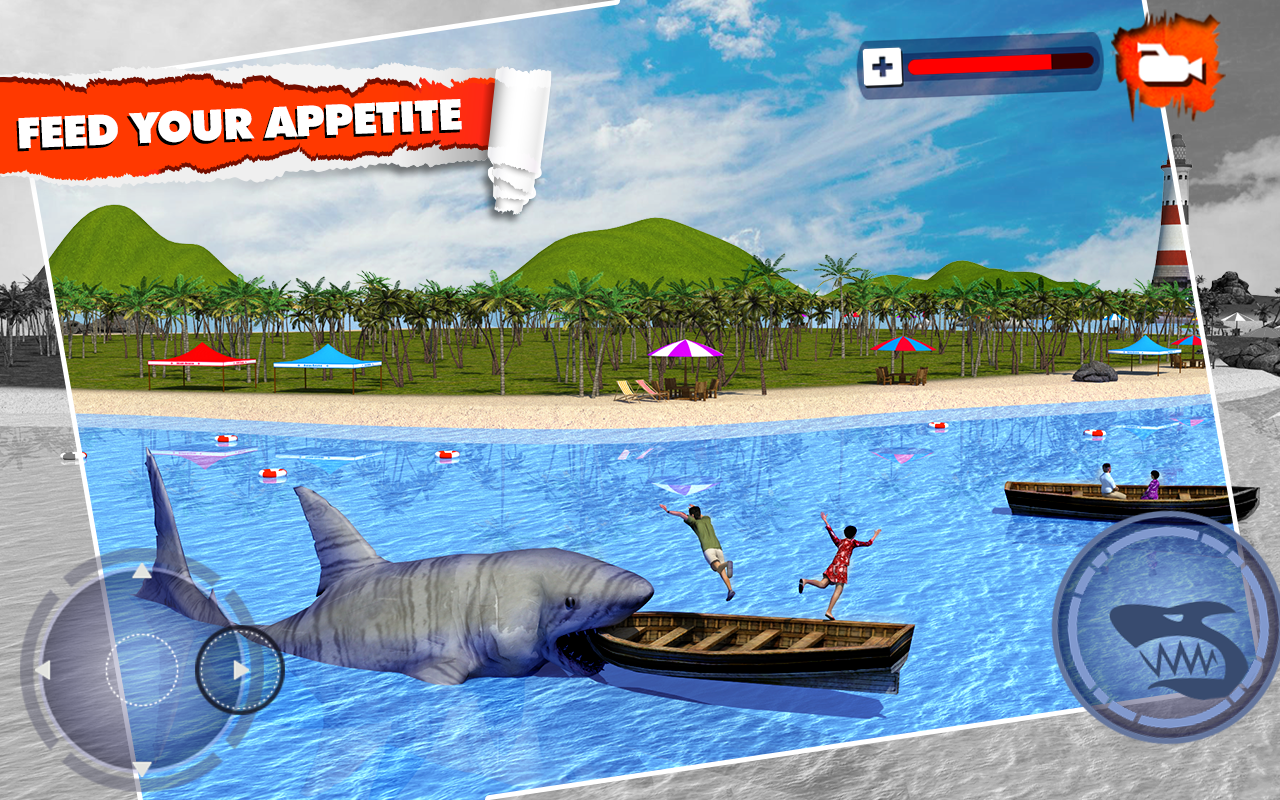 Angry Shark Simulator 3D Screenshot 4