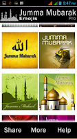 Screenshot of Jumma Mubarak Emojis - PRO