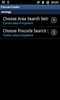 Screenshot of Pincode Finder