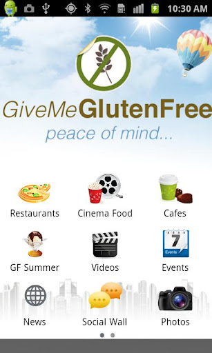 Give Me Gluten Free