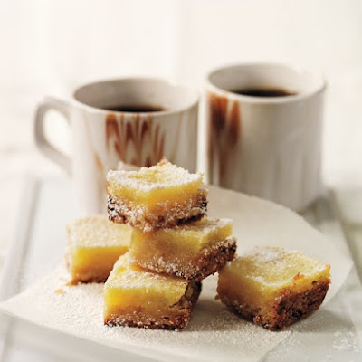 Coconut-Key Lime Squares