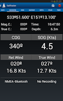 Screenshot of Sailtracker Polar AIS NMEA