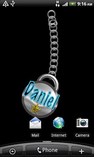 Daniel Name Tag