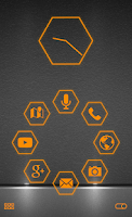 Screenshot of Stamped Orange Pack SL Theme