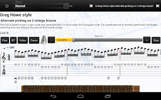 Screenshot of Shred Guitar Mastery Free