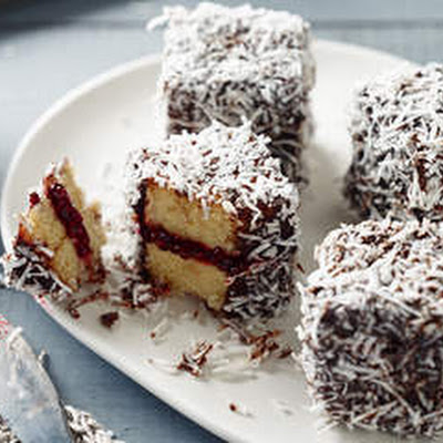 Gluten-free Raspberry Lamingtons