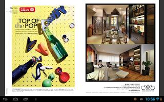 Screenshot of SPH Magazines