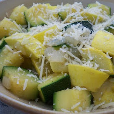 Simple Skillet Zucchini Squash