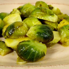 Brussels Sprouts with Lemon-Mustard Sauce