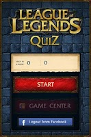 Screenshot of League of Legends Quiz