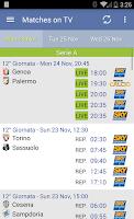 Screenshot of Italian Soccer 2014/2015