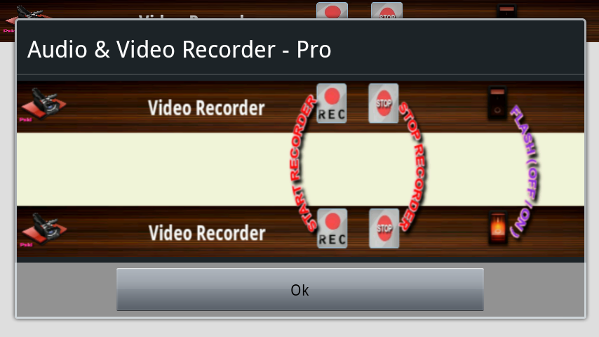 Audio and Video Recorder Pro Screenshot 1
