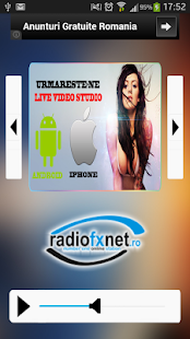 Radio Fx-Net - screenshot