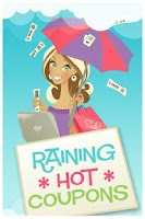 Screenshot of Raining Hot Coupons
