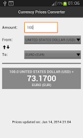 Screenshot of Currency Prices Converter Free