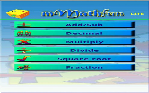 mMathfun - screenshot