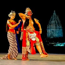 Rahwana by OC Andoko - People Musicians & Entertainers ( rahwanan, epic dance, javanese, ramayana, jogja )