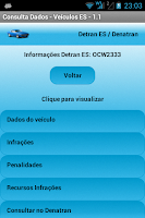 Screenshot of DetranES / Denatran - Consulta