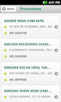 Screenshot of Unimed Curitiba Mobile
