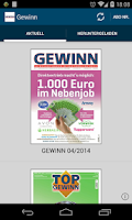 Screenshot of GEWINN