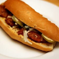 Dinner Tonight: Andouille Po' Boy 'Creolaise'