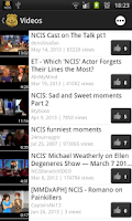 Screenshot of NCIS Fan