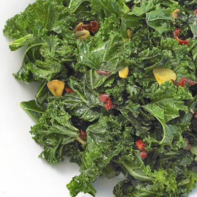 Stir-fried Curly Kale With Chilli & Garlic