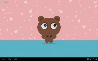 Screenshot of Tony Bear Live Wallpaper