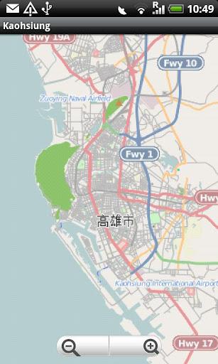 Kaohsiung Street Map