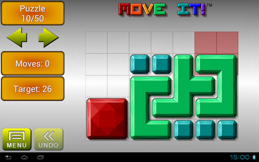 Move it! Block Sliding Puzzle - screenshot