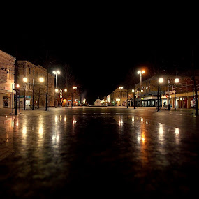 City in the dark by Zeljko Jelavic - Novices Only Landscapes (  )