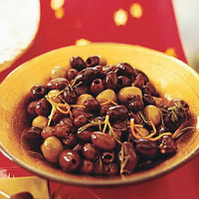 Spicy Marinated Olives