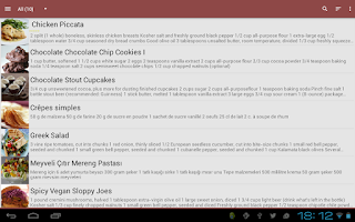 Screenshot of My CookBook Pro (Ad Free)