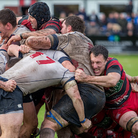 The final moments by Dan Bellenger - Sports & Fitness Rugby ( sports photographer, canon, uk, lseries, birmingham, sports, moseley, rugby )