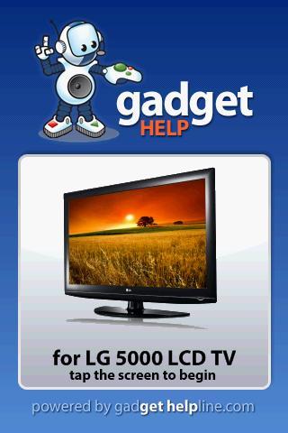 LG 5000 LCD TV - Gadget Help
