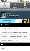 Screenshot of Wake9.com Community