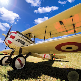 BEAUTIFUL DAY FOR A FLIGHT by RomanDA Photography - Transportation Airplanes ( control, model, plane, remote, rc,  )