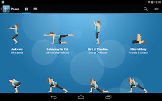 Screenshot of Pocket Yoga