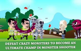 Screenshot of Monster Killer: Shooter Mayhem