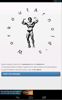 Screenshot of Arnold's Workout