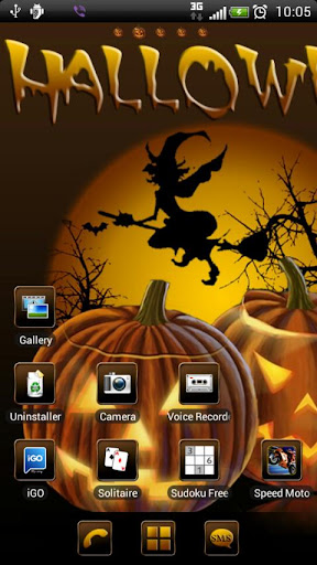 Halloween 2 GO Launcher theme