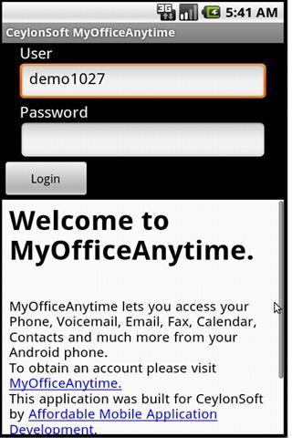 CeylonSoft MyOfficeAnytime