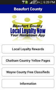 Beaufort Local Loyalty Now - screenshot